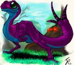 Jade-eyed Lizard