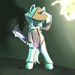 Lyra as Dust