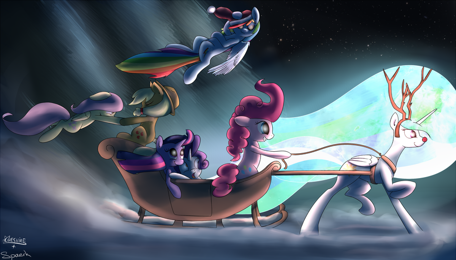Happy Christmas by Cheshiresdesires