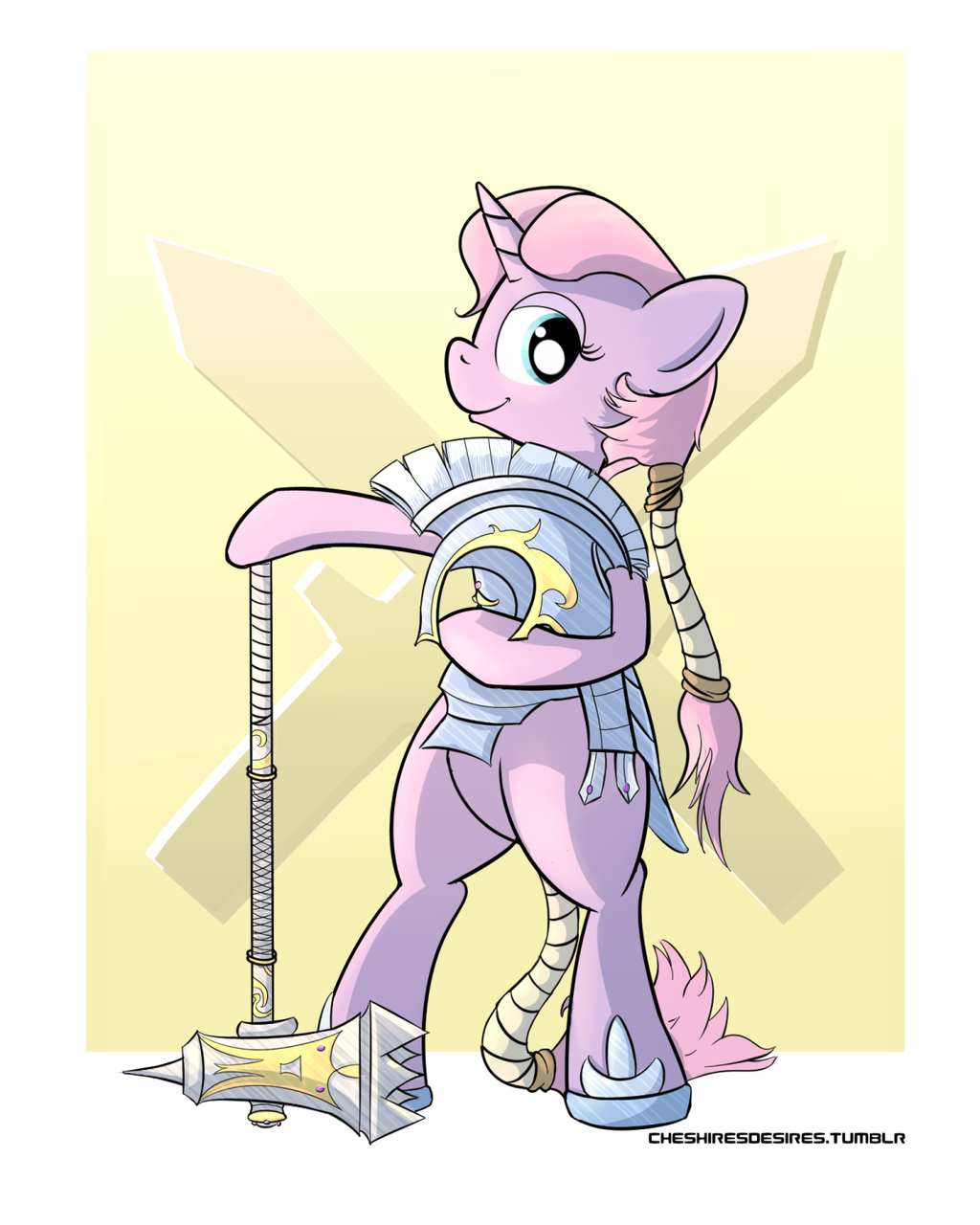 Royal crystal guard by Cheshiresdesires
