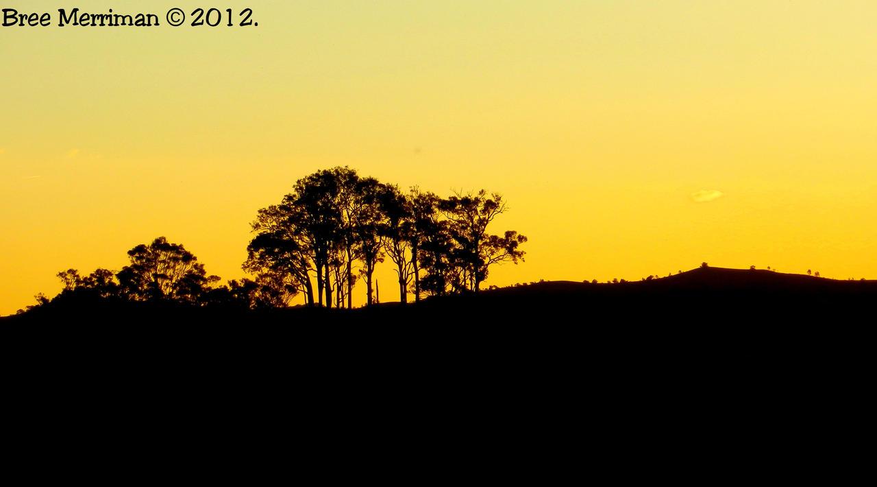 Yellow Landscape by BreeSpawn