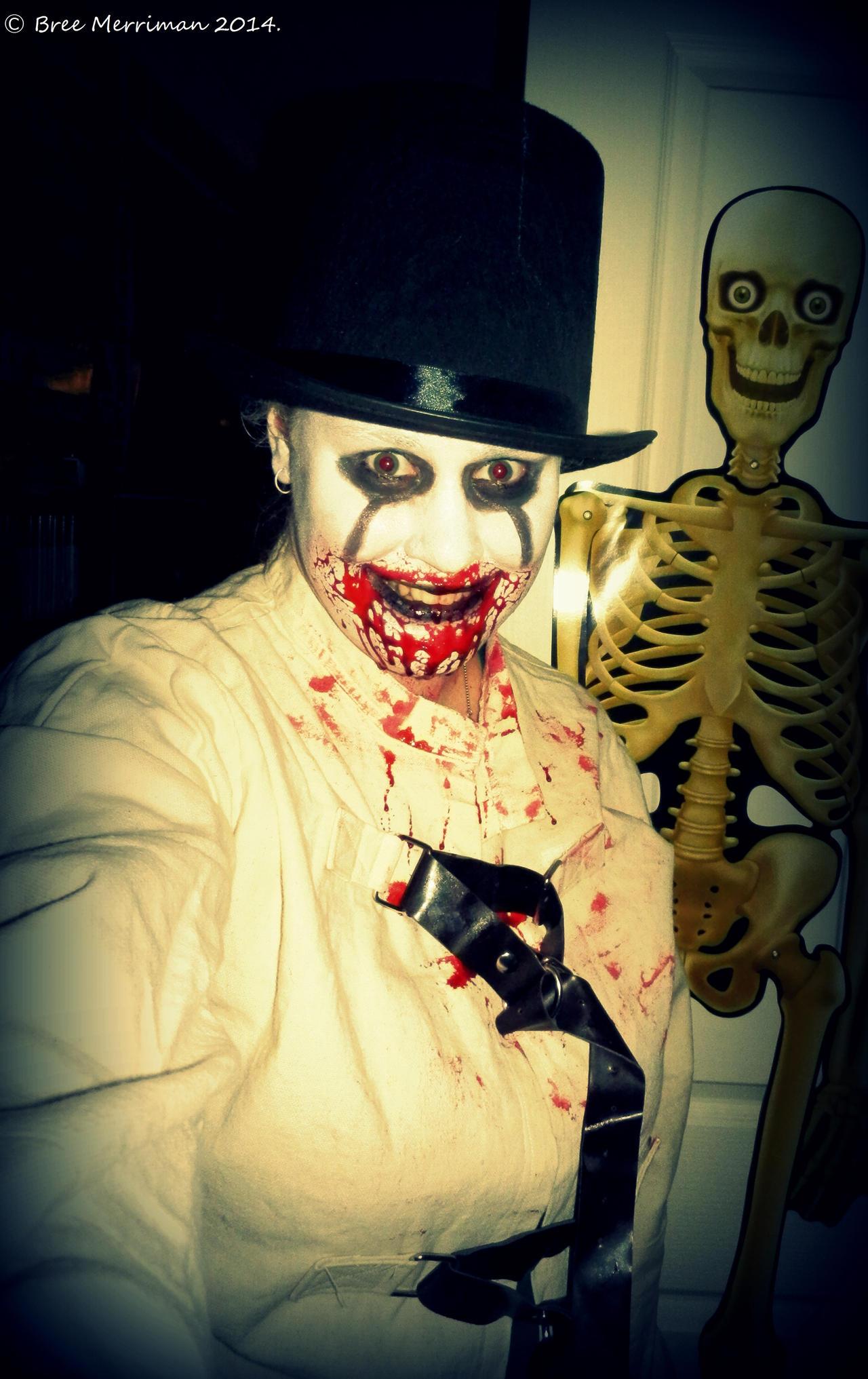 Halloween Psycho by BreeSpawn