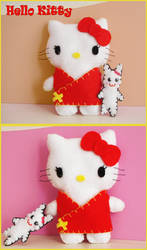Hello Kitty Plushie by MyMisstry