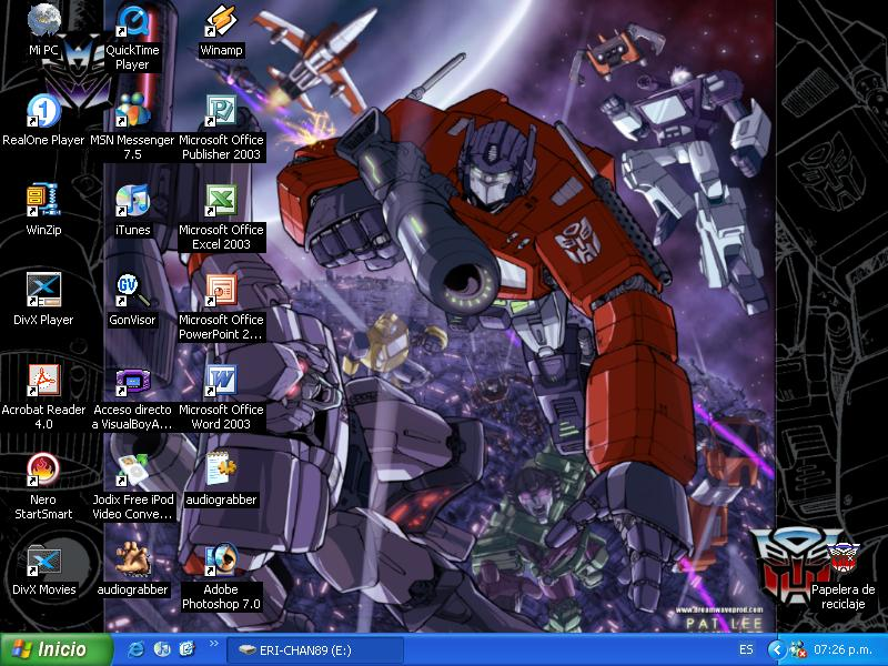 Desktop by Eri-chan89