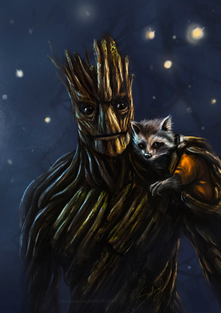 We are Groot by Sabinalibertad