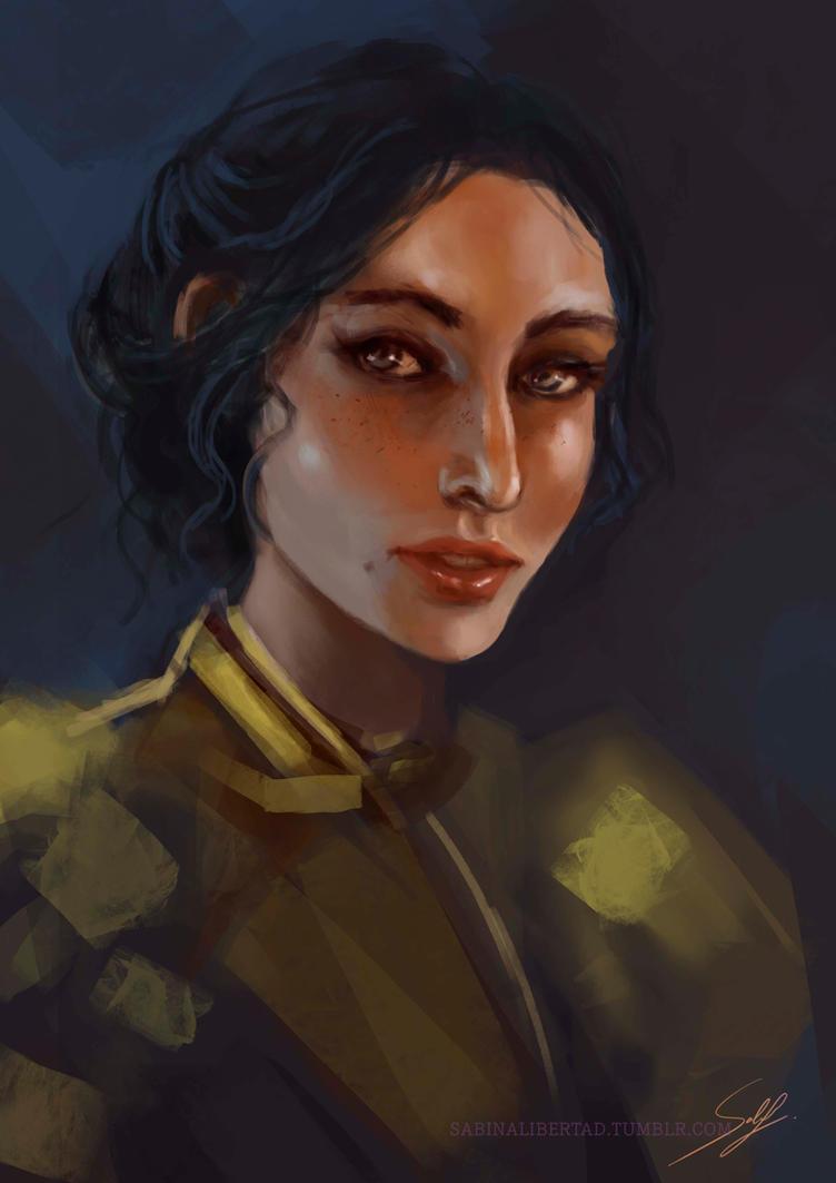 Josephine Montilyet by Sabinalibertad