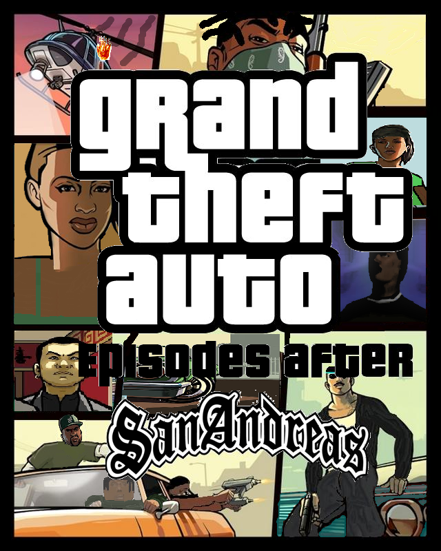 GTA: Episodes After San Andreas Box Art By Jeansowaty On
