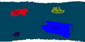 Terraformed Ganymede Political Map