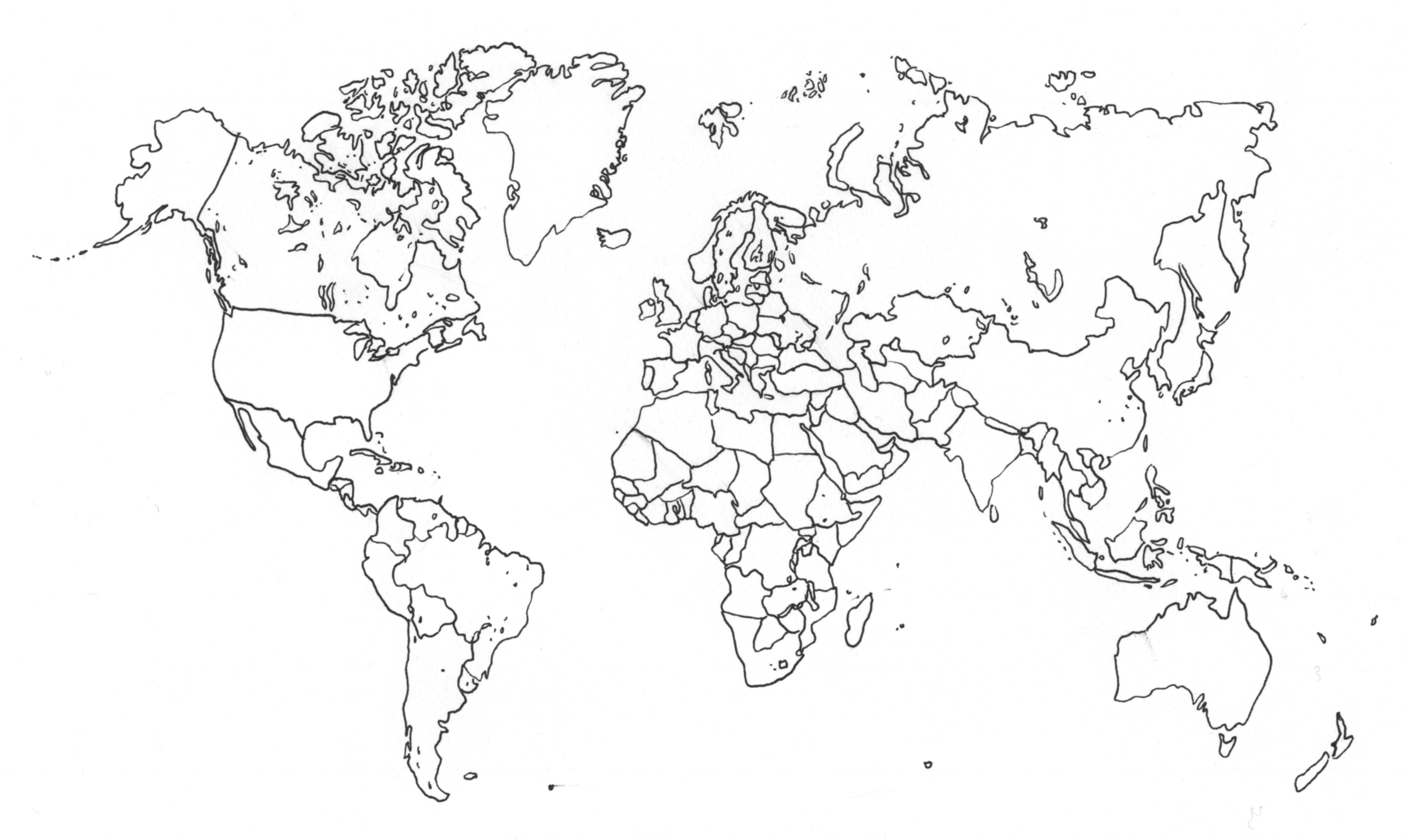 D Line Drawings Locations : Drawing the world by mrareay on deviantart