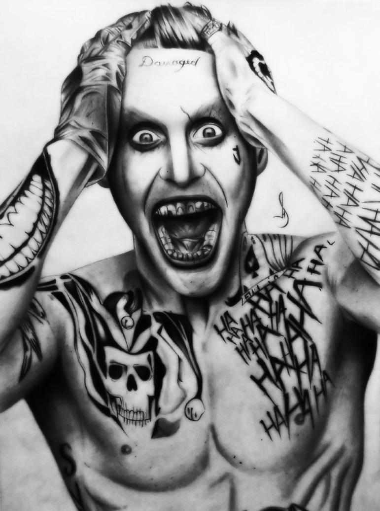 Drawing Joker 2 Suicide Squad By Jhonatan23 On DeviantArt