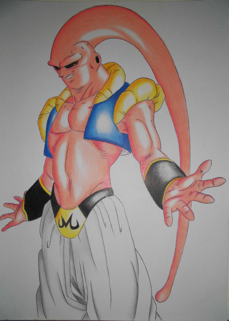 Dibujo de majin buu by jhonatan23