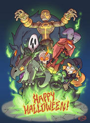 Happy Halloween 2018 by donsimoni
