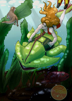 Hunting underwater