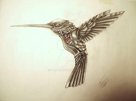 My Mechanical Hummingbird Tatt