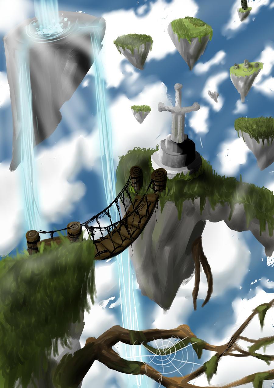 Fantasy world by RafiGrafi