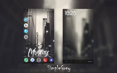 SimpleGrey HTC ONE X by Fard44