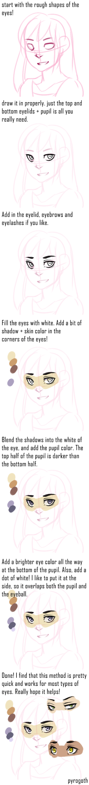 Tutorial: Super quick eye colors by pyrogoth