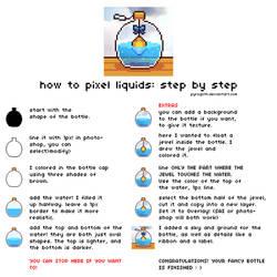 Tutorial: Pixel liquids by pyrogoth