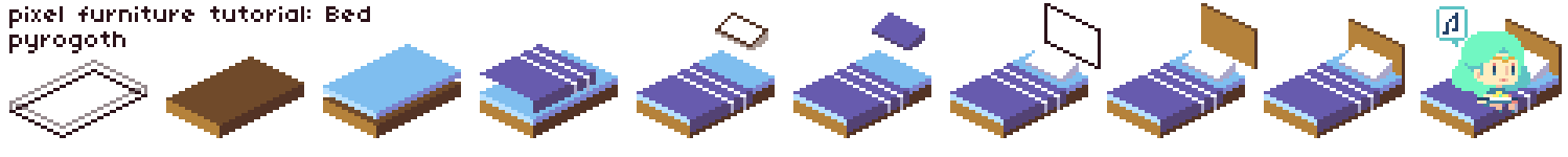 Tutorial: Pixel bed by pyrogoth