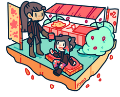 scene: tea