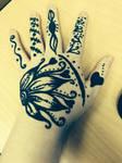 My henna tattoo design by xxxpandah-eyesxxx