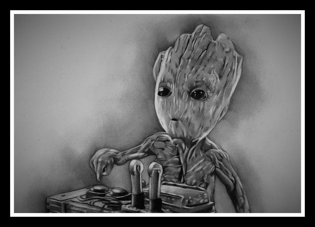 I AM GROOT by Achristie