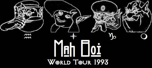 Mah Boi World Tour 1993 by kingjames777