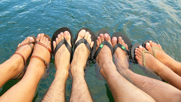Feet Out of Water