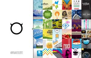 Folio Card - Graphic Design by shanahben