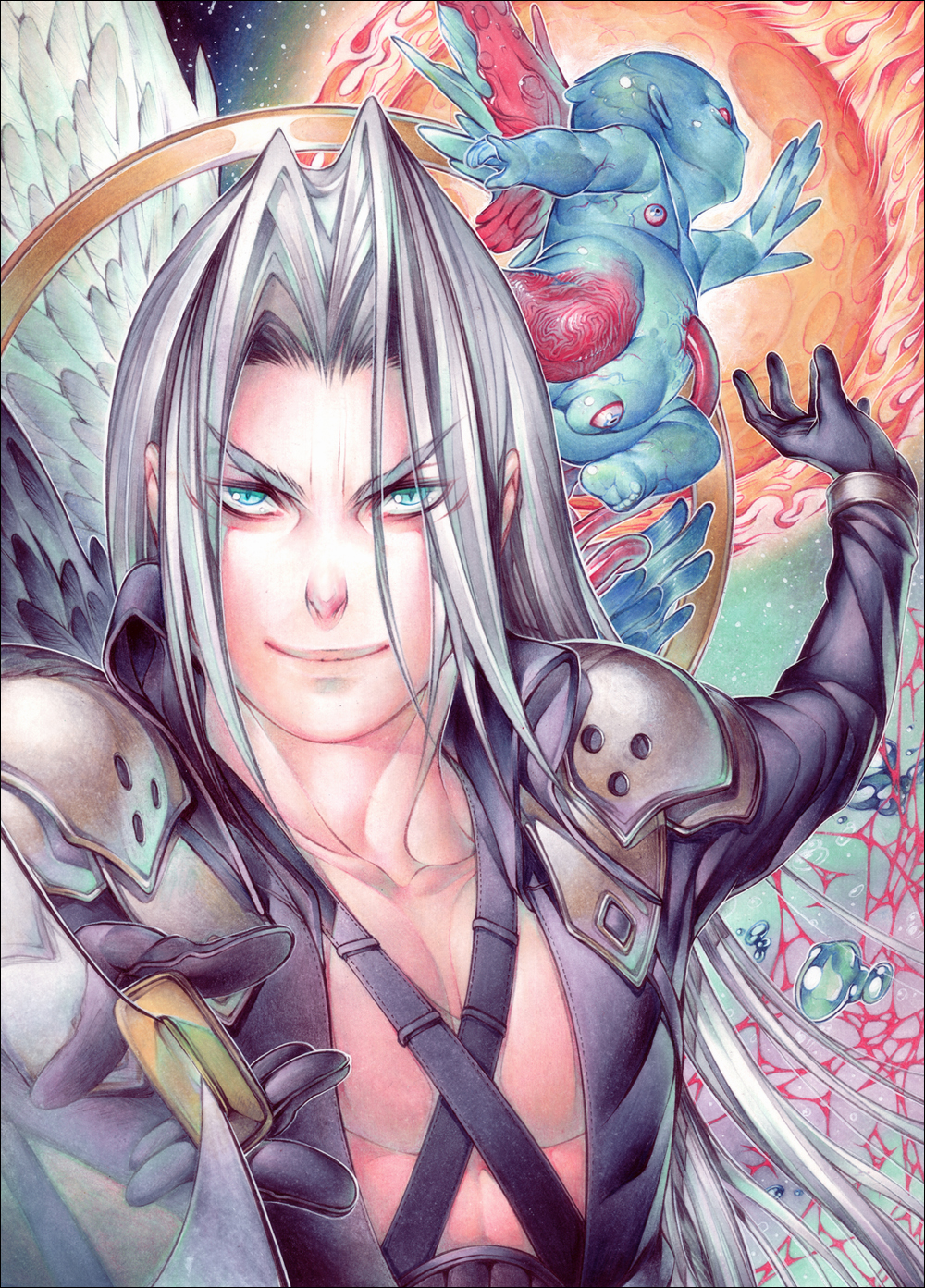 Sephiroth - Judgement Day by NilooDE