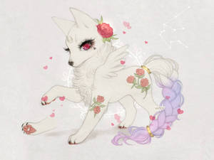 Valentines day Moon Pup adopt