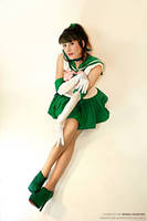 Sailor Jupiter: Waiting for you~ by xenia1369