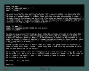 Tales of Monster City Gaster Data File 003-004