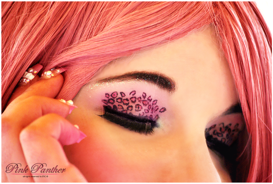 Pink Panther: Make-Up by Cat-sama