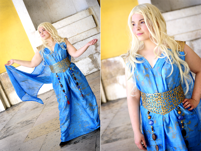 Daenerys Targaryen - Qarth by Cat-sama
