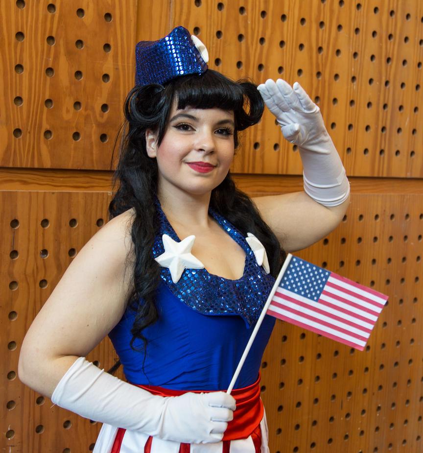 USO Girl - Captain America by Cat-sama