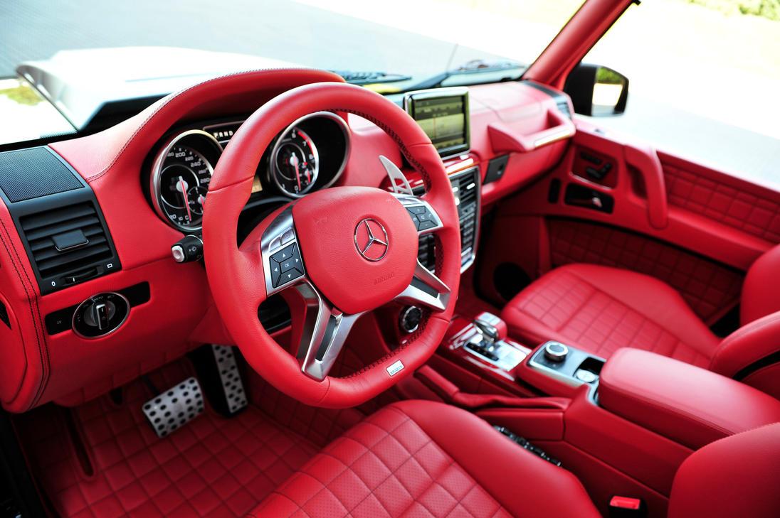 Brabus B63s Mercedes Benz G Class 6x6 Red Interior By Tkasabov2 On Deviantart