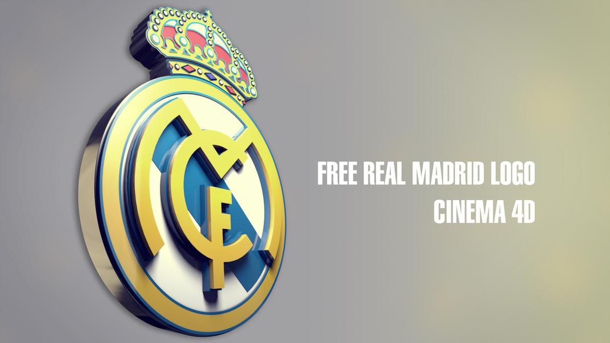 REAL MADRID 3D LOGO By Tkasabov2