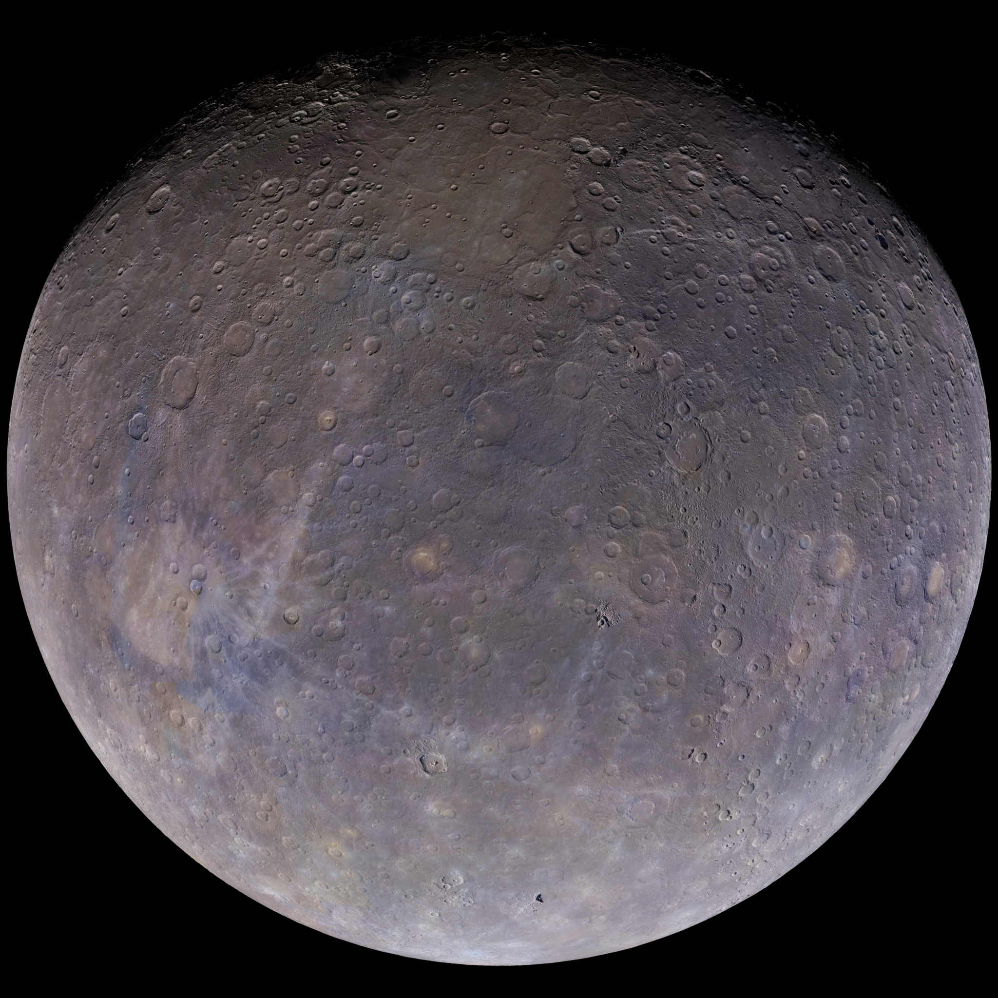color of mercury planet - photo #14