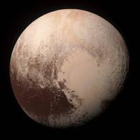 New Horizons Pluto Mosaic (True-color Edit)