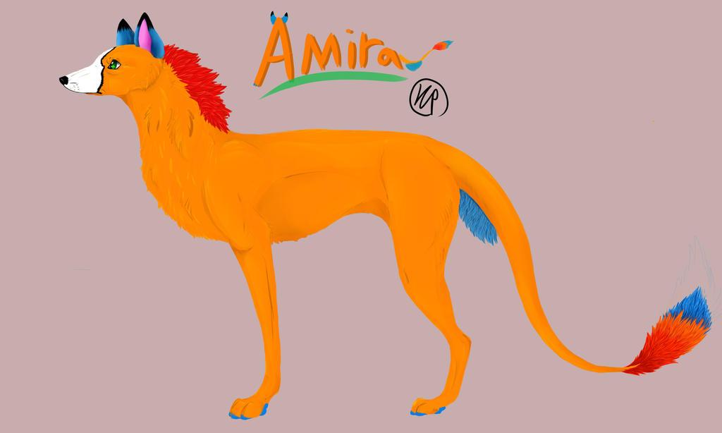 Fursona Amira  by littleevee17