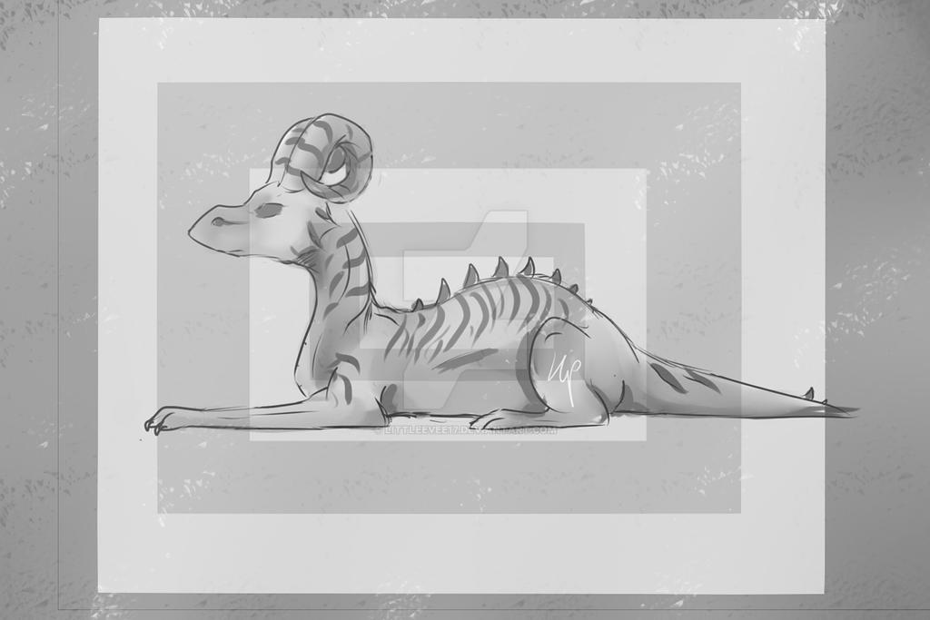 Dragon Yay by littleevee17