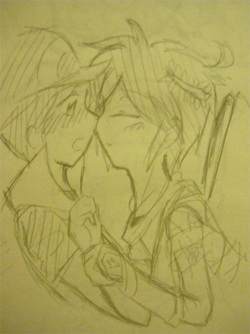 Kiss please? by Vulpixi-Misa