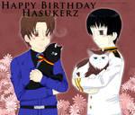 Happy Birthday to Hasukerz 2011