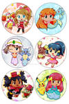 BUTTONS PokeGirls Show Time!