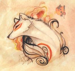 Goddess of Sun by PixelRaccoon