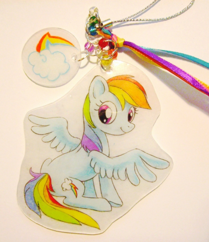 Rainbow Dash charm by SirKittenpaws