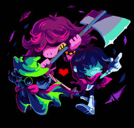 Deltarune by PixelRaccoon