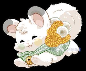 Dandelion Coconut Fluff by PixelRaccoon