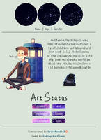 Doctor Who Profile Code [F2U] by Coding-by-Fiona